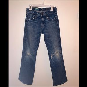 7 For All Mankind Girls Jeans. Size 12.